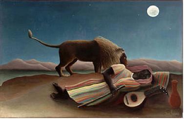 Lion & Sleeper